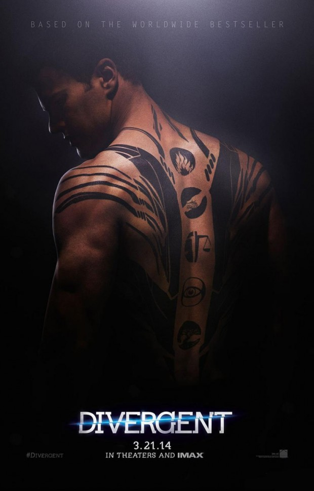 DIVERGENT Character Poster Theo James