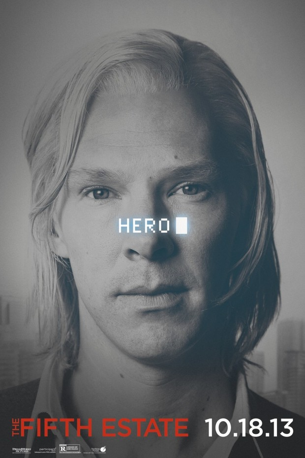 THE FIFTH ESTATE Character Poster 01