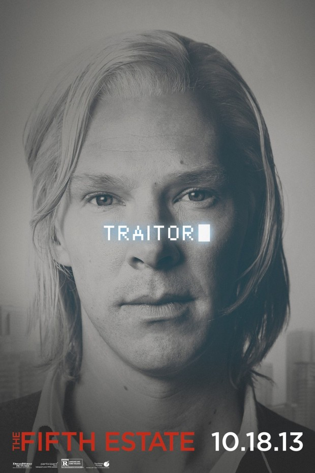 THE FIFTH ESTATE Character Poster 03