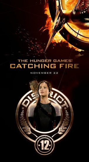 THE HUNGER GAMES CATCHING FIRE Character Poster 03