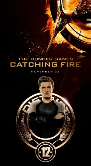 THE HUNGER GAMES CATCHING FIRE Character Poster 04