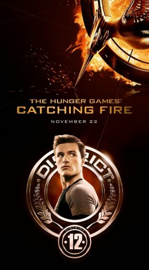 THE HUNGER GAMES CATCHING FIRE Character Poster 05