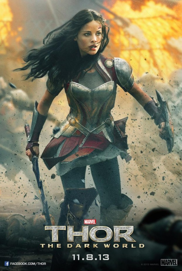 THOR THE DARK WORLD Lady Sif Poster