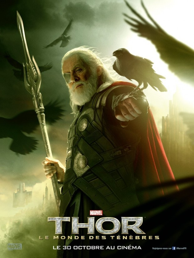 THOR THE DARK WORLD Odin Poster
