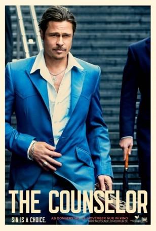 The Counselor Brad Pitt Poster
