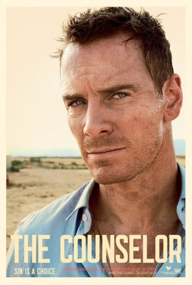 The Counselor Michael Fassbender Poster