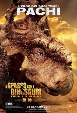 Walking with Dinosaurs 3D Character Poster 01