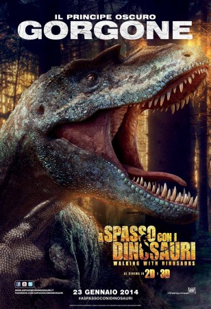 Walking with Dinosaurs 3D Character Poster 02