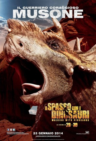 Walking with Dinosaurs 3D Character Poster 03