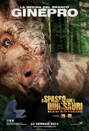 Walking with Dinosaurs 3D Character Poster 04