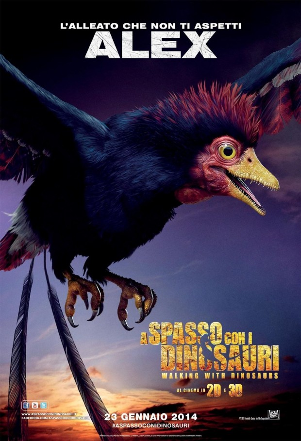 Walking with Dinosaurs 3D Character Poster 05