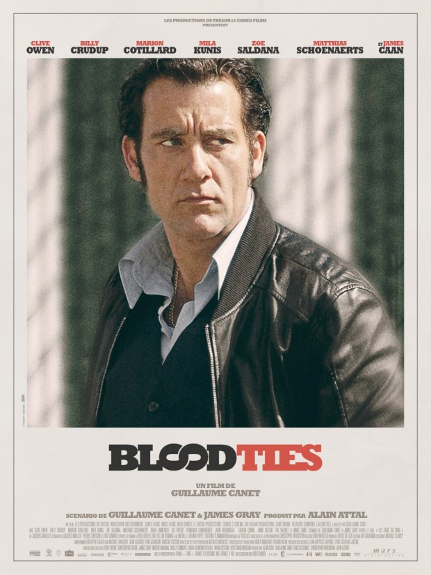 BLOOD TIES Poster Clive Owen