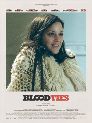 BLOOD TIES Poster Marion Cotillard