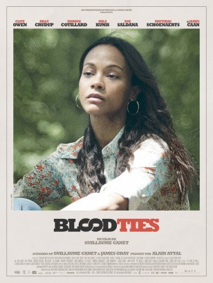 BLOOD TIES Poster Zoe Saldana