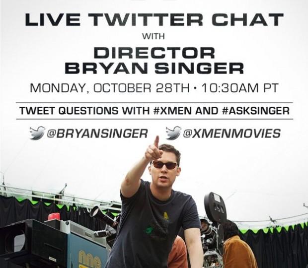Bryan Singer Twitter Chat