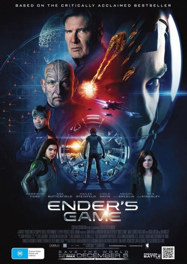 ENDER'S GAME Poster 02