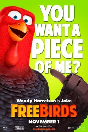 Free Birds Character Poster 01
