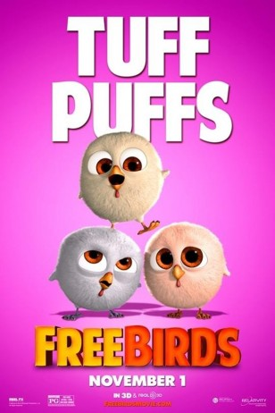 Free Birds Character Poster 03