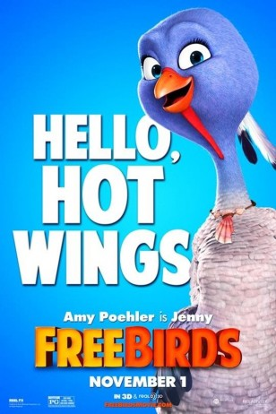Free Birds Character Poster 04