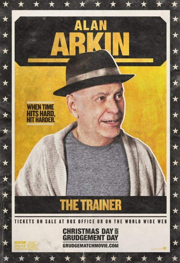 GRUDGE MATCH Alan Arkin Poster