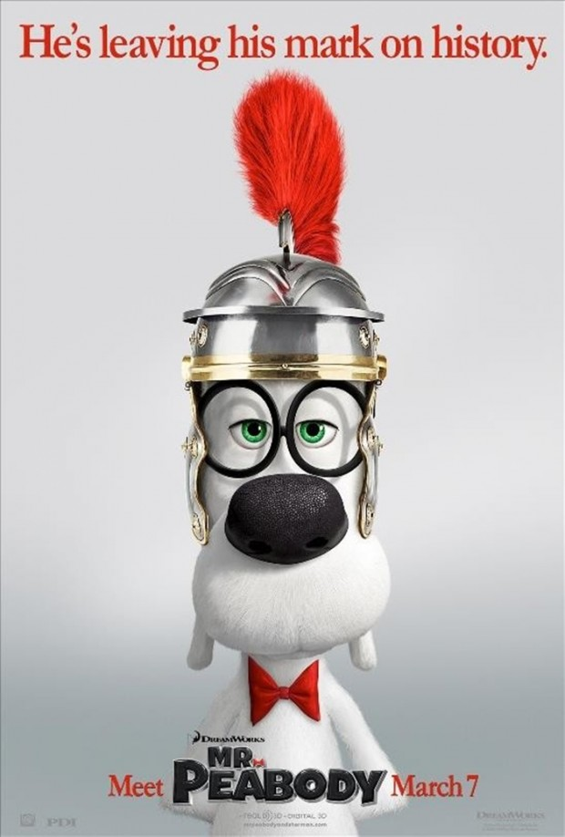 MR. PEABODY & SHERMAN Poster 01