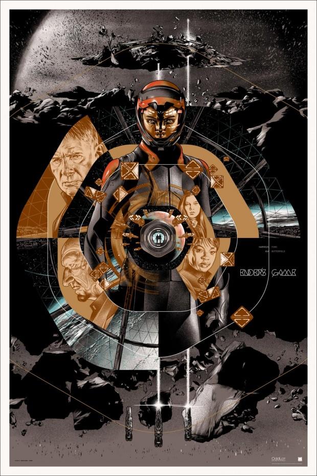 ENDER'S GAME - Mondo Poster