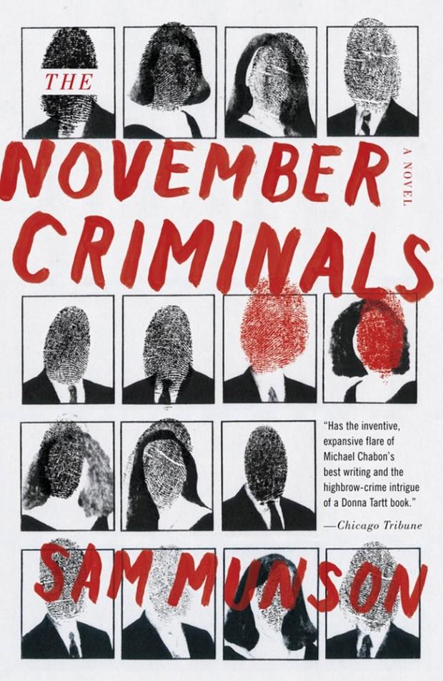 NOVEMBER CRIMINALS Novel Cover