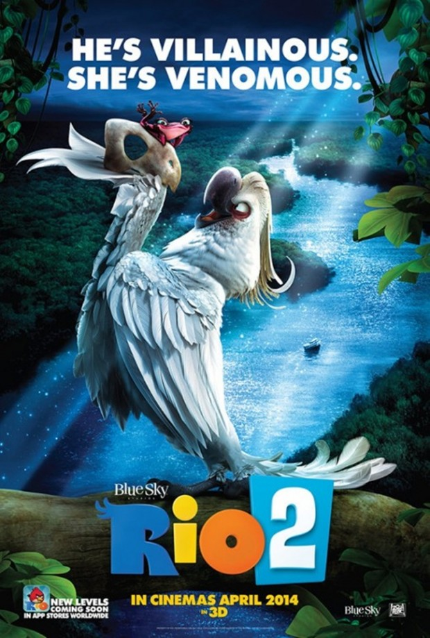 RIO 2 Character Poster 01