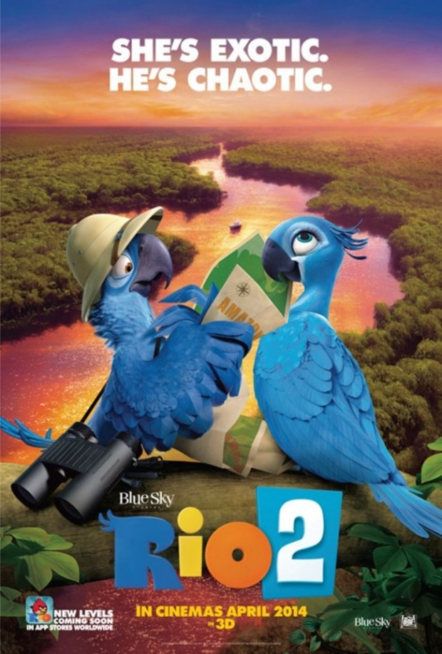 RIO 2 Character Poster 02