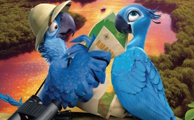 RIO 2 Character Posters
