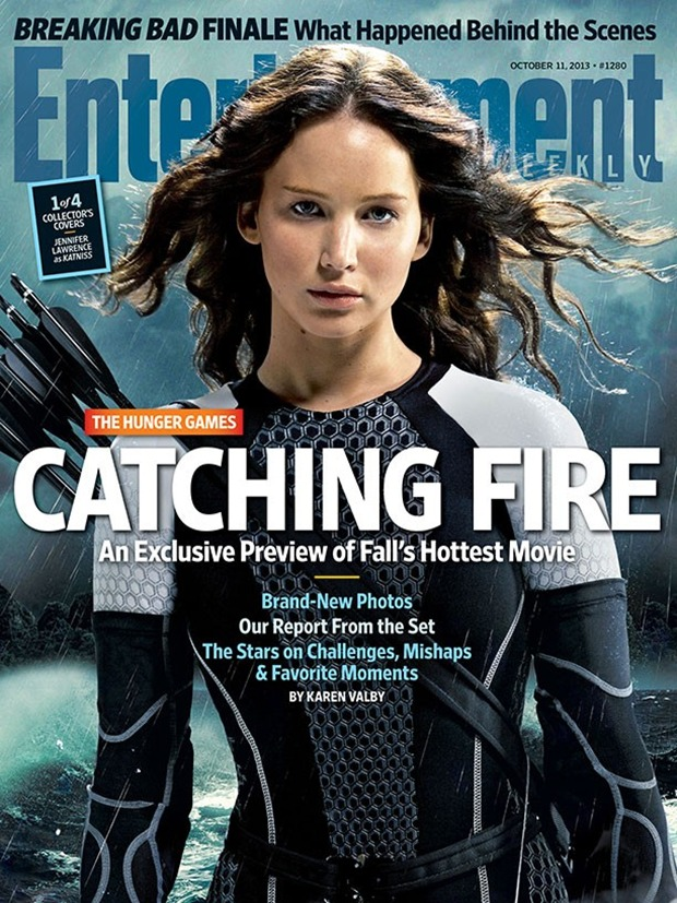 THE HUNGER GAMES CATCHING FIRE EW Cover 01