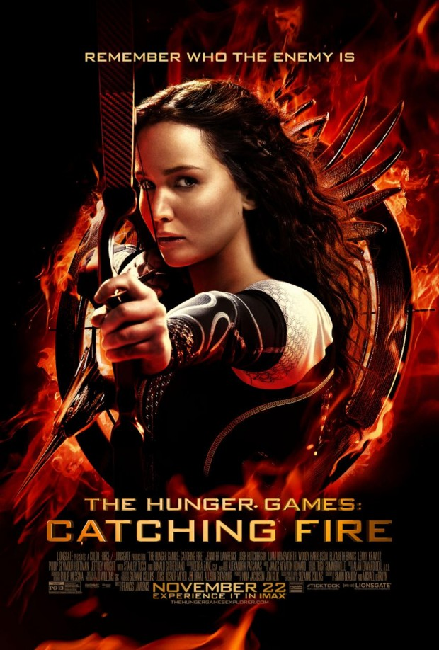 THE HUNGER GAMES CATCHING FIRE Final Poster
