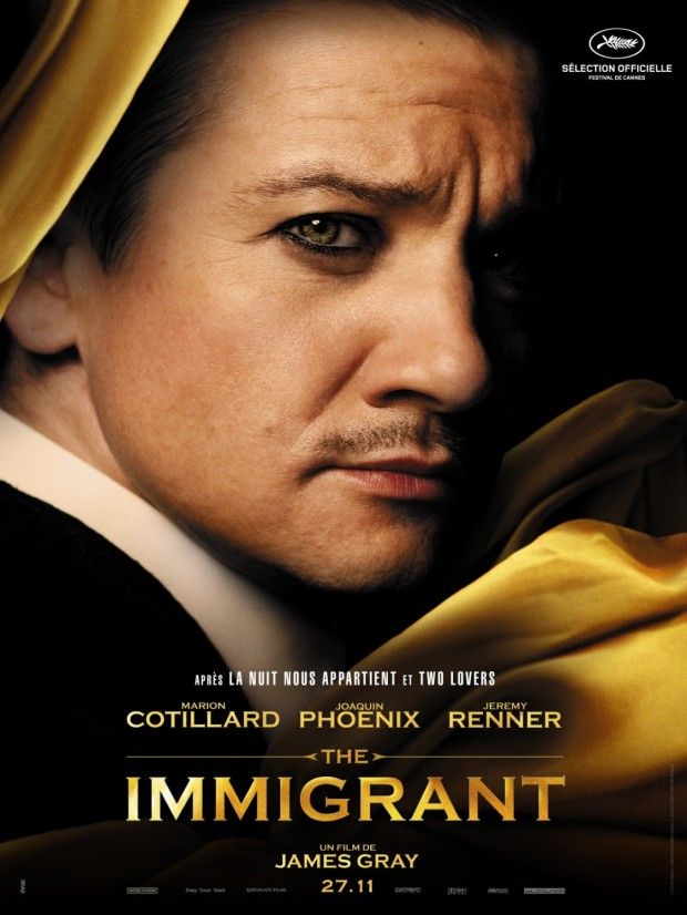 THE IMMIGRANT Character Poster Jeremy Renner