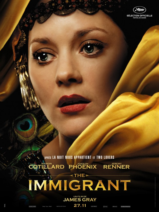 THE IMMIGRANT Character Poster Marion Cotillard