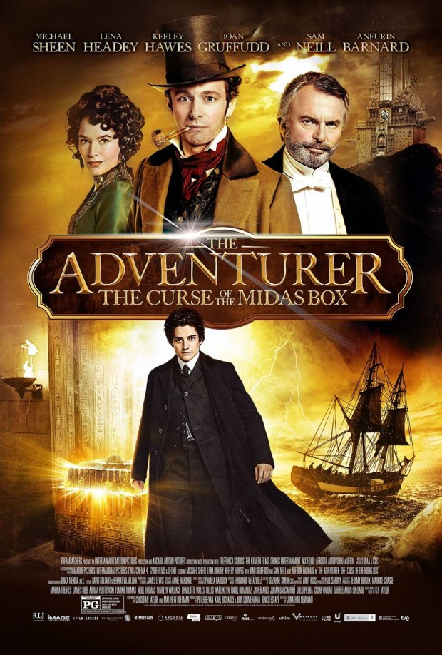 The Adventurer The Curse of the Midas Box Poster 03