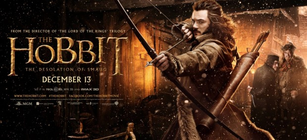 The Hobbit The Desolation of Smaug Bard the Bowman Banner