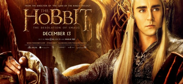 The Hobbit The Desolation of Smaug Thranduil Banner