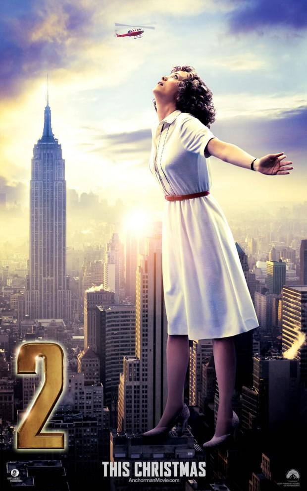 ANCHORMAN 2 Poster Kristen Wiig