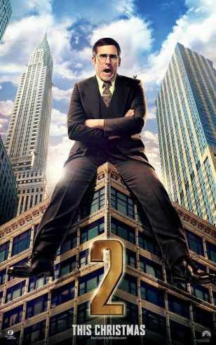 Anchorman 2 Steve Carell Poster