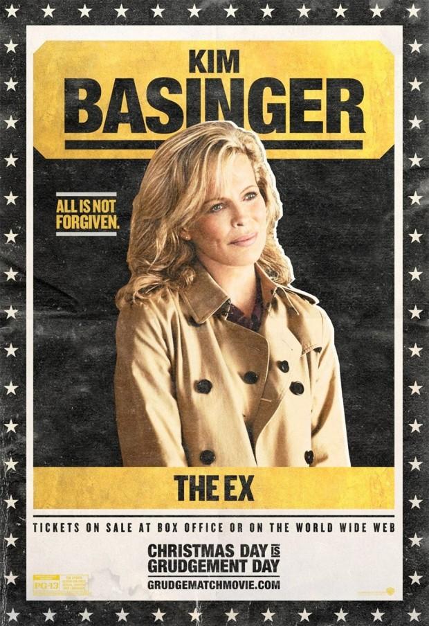 GRUDGE MATCH Kim Basinger Poster