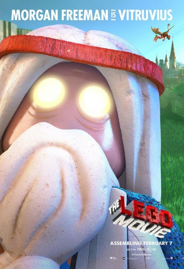 THE LEGO MOVIE Vitruvius Poster