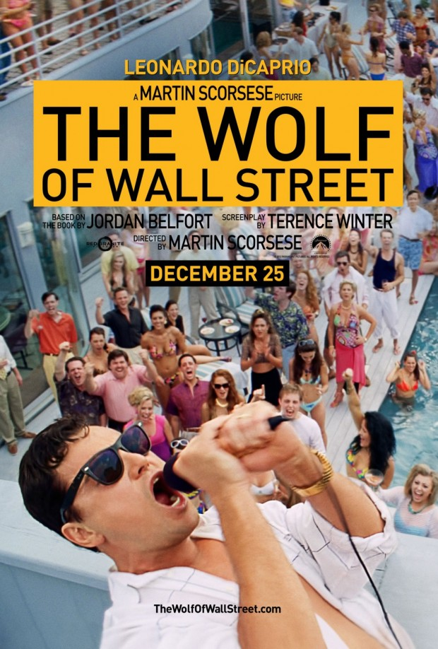 THE WOLF OF WALL STREET Poster 01