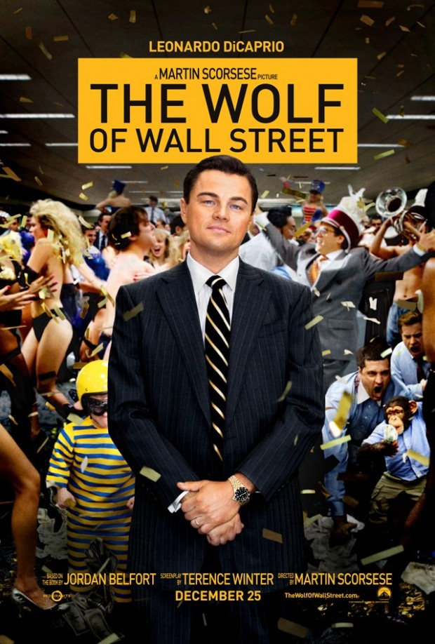 THE WOLF OF WALL STREET Poster 02