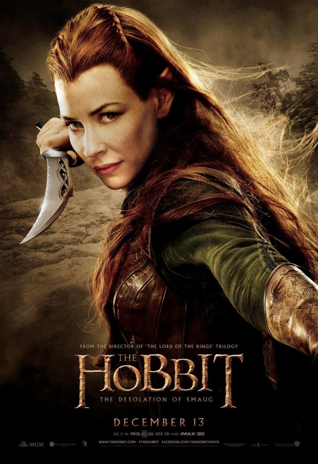 The Hobbit The Desolation of Smaug Tauriel Poster