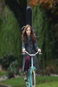 Chloë Moretz on the Set of IF I STAY Movie in Vancouver