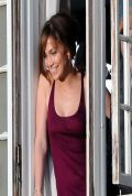 Jennifer Lopez on the Set of THE BOY NEXT DOOR in Los Angeles