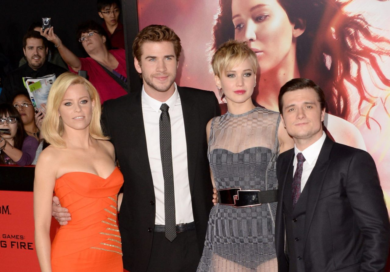 THE HUNGER GAMES: CATCHING FIRE Premiere in Los Angeles