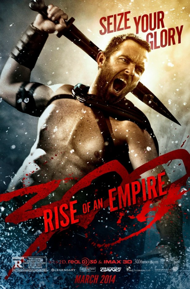 300 Rise Of An Empire Sullivan Stapleton Poster