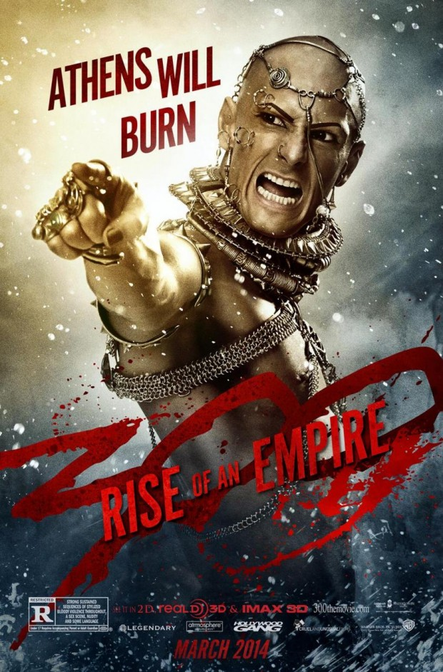 300 Rise of an Empire Xerxes Poster