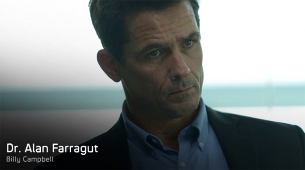 Dr. Alan Farragut (Billy Campbell)